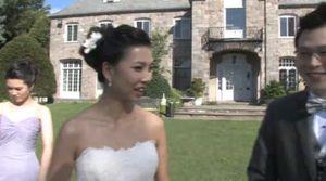 Wainwright Wedding bride
