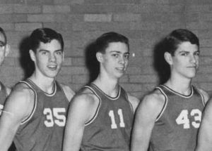 Early 1960's Rye High Basketball Team (autocorrect) OLD GARNET