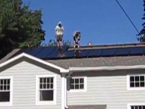 Solar myrye house