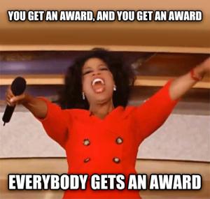Oprah award