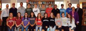 RHS sports commits 2019