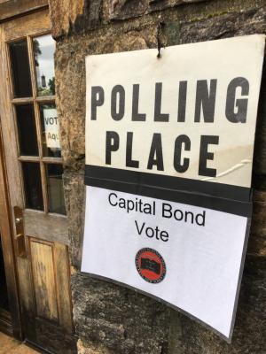 Bond vote 1
