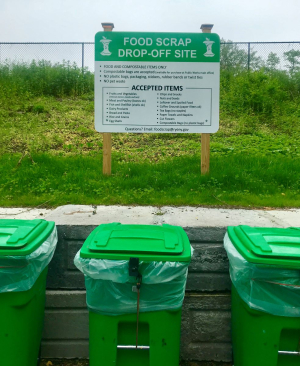 Food scrap recycle Rye