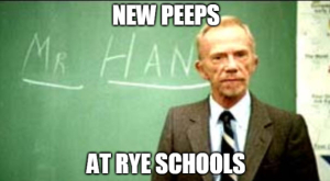 Rye Schools New Peeps