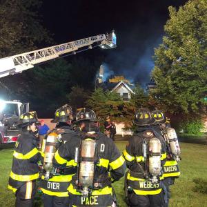 167 Grandview Avenue Rye NY burning 4