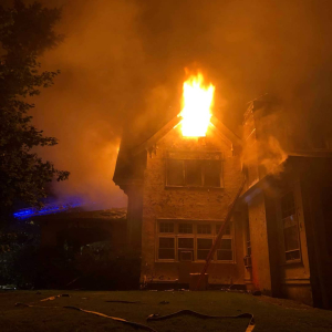 167 Grandview Avenue Rye NY burning 5