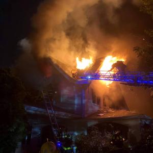 167 Grandview Avenue Rye NY burning 6