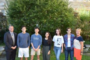 RHS National Merit Scholarship Semi-Finalists 2020