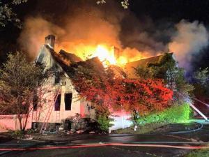 167 Grandview Avenue Rye NY burning 1