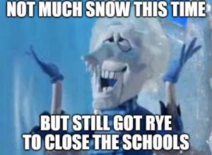 Mr snow miser w message