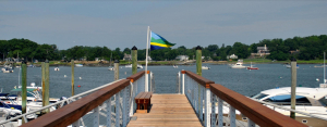 Shenorock Shore Club docks