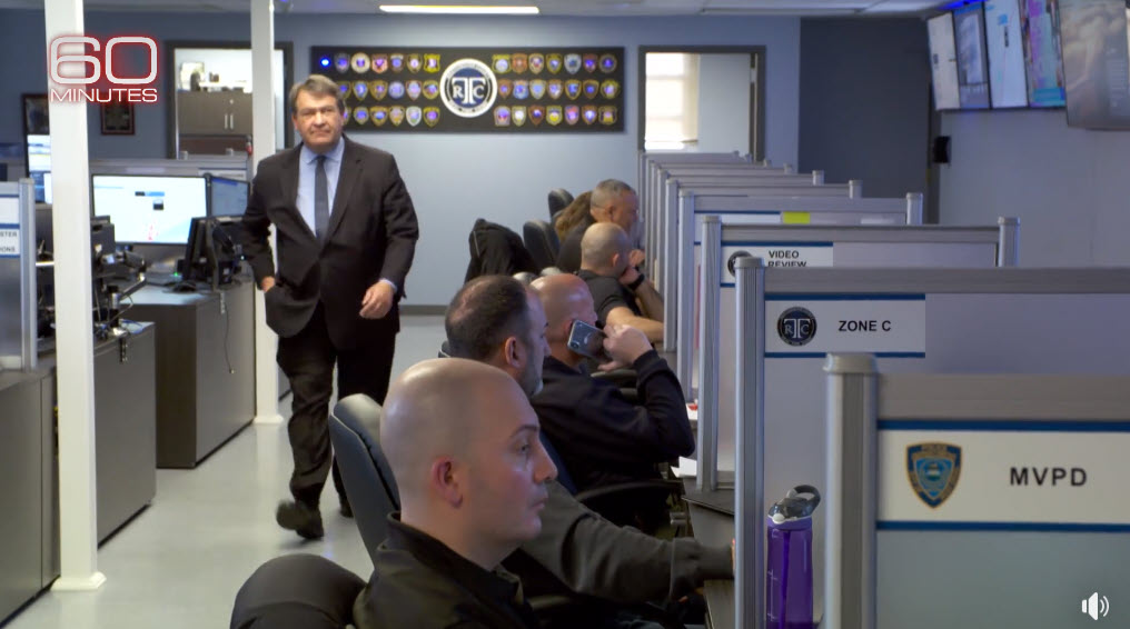 George Latimer 60 Minutes Emergency Operations Center