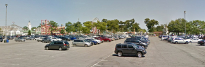Rye playland parking lot
