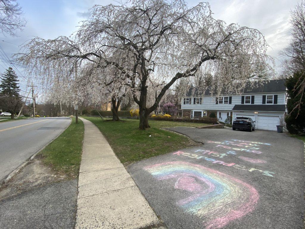 Chalk art Rye NY