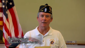 Rye Memorial Day 2020 v5 Tim Moynihan, Adjudant -Treasurer Post 128