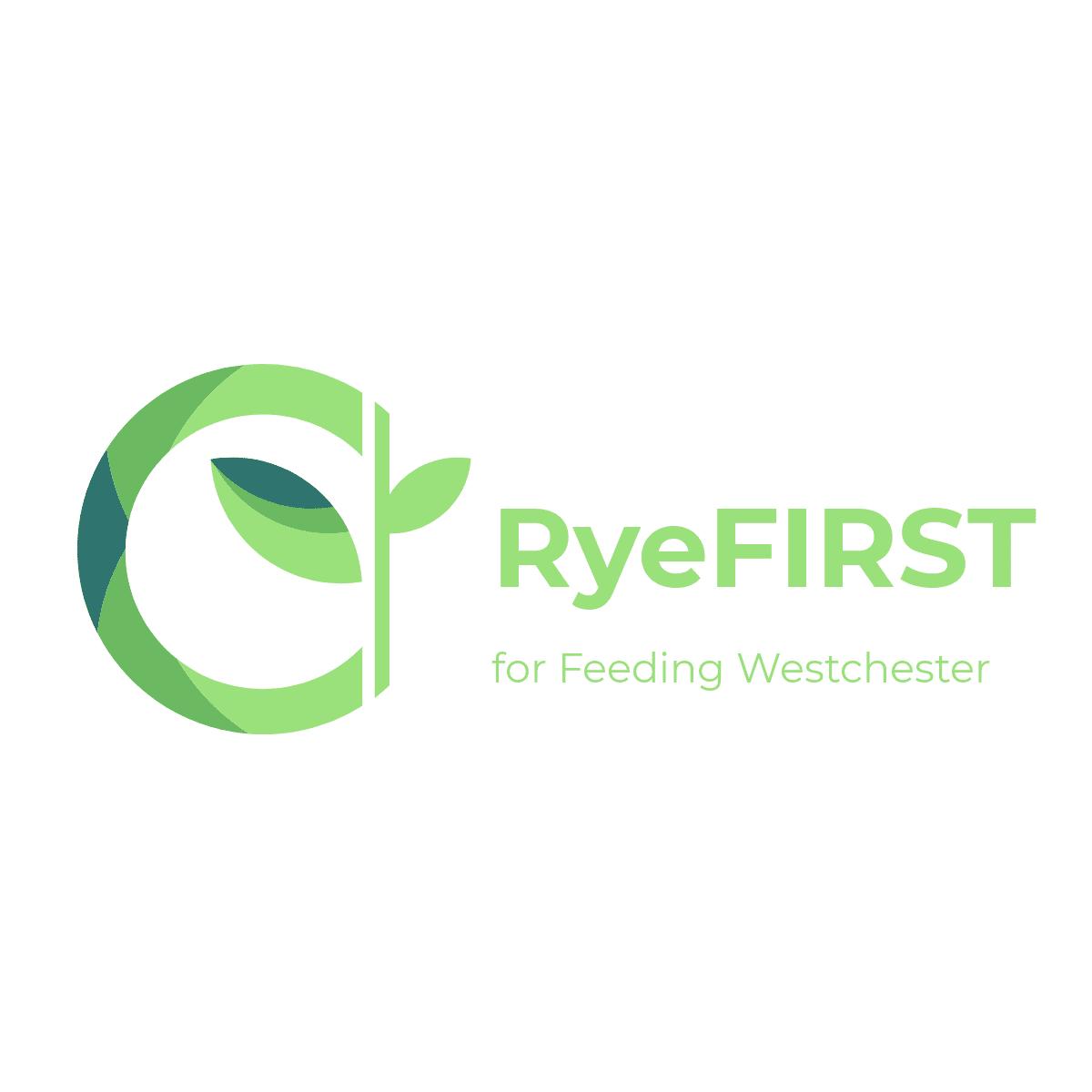 RyeFIRST logo - MyRye.com, PD, FD Feeding Westchester Fundraiser