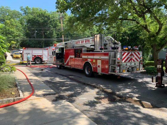 40 Cedar Place Rye, NY fire June 2020 1