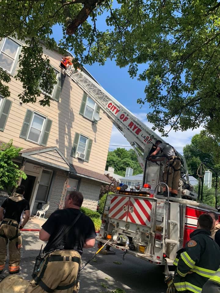 40 Cedar Place Rye, NY fire June 2020 2