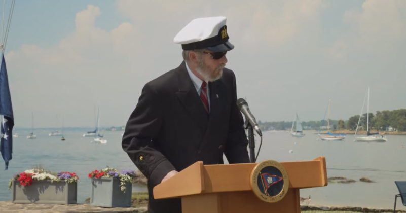 American Yacht Club's 137th Commissioning Fleet Captain Matthew B. Fahey