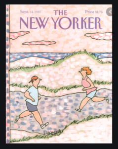 Devera Jean Ehrenberg New Yorker cover