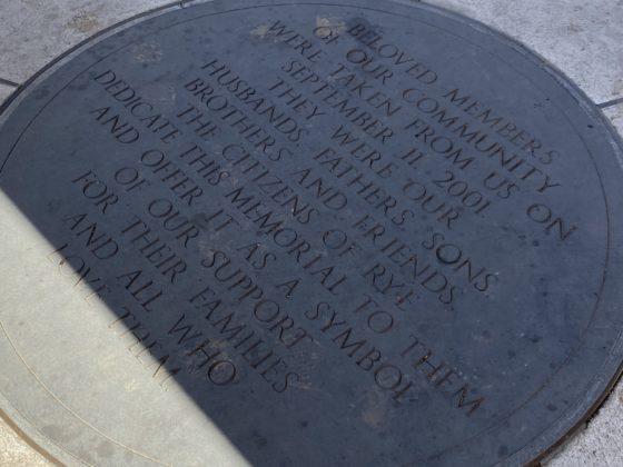 Rye, NY 9-11 Memorial