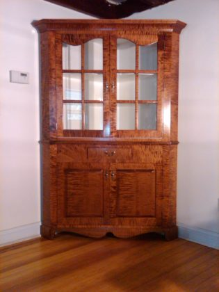 John McDwyer's woodworking skills