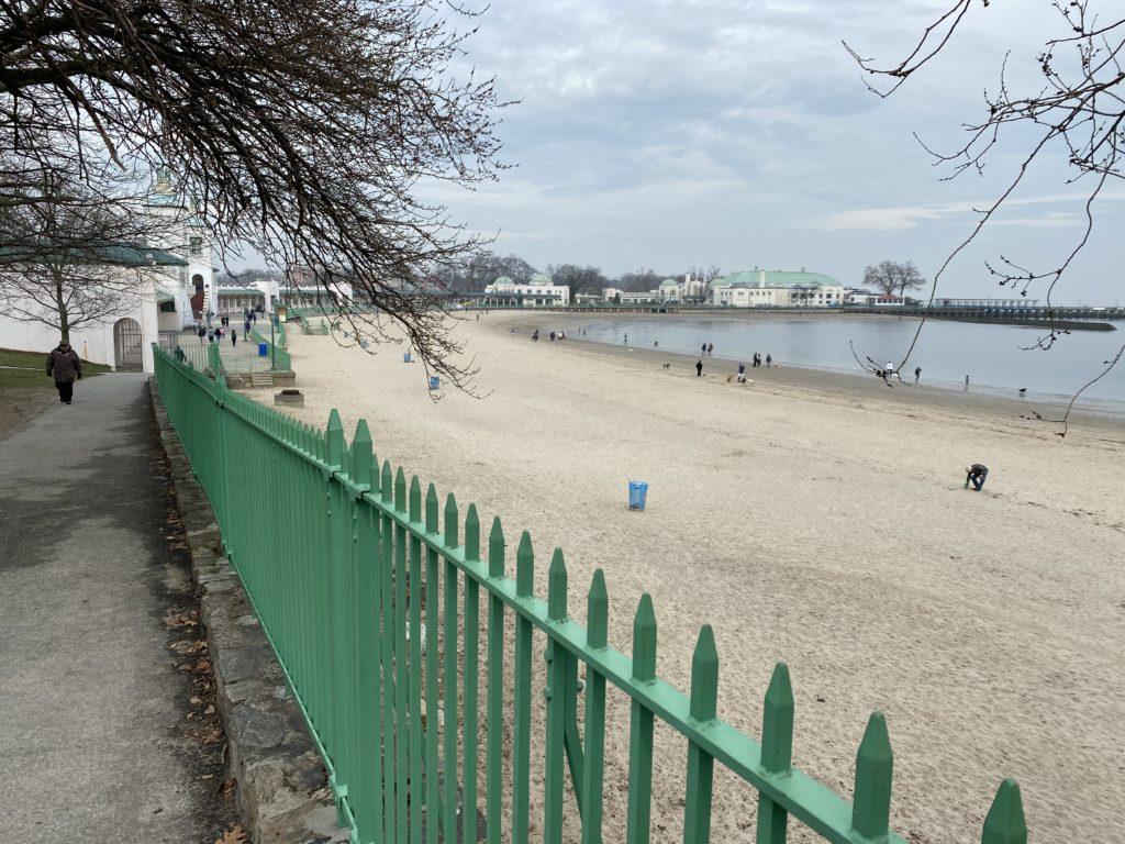 Rye Playland Beach May 2020