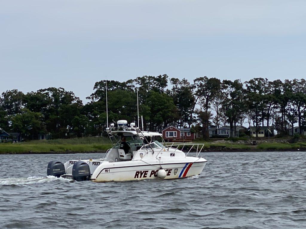 Rye PD Police Boat PB1