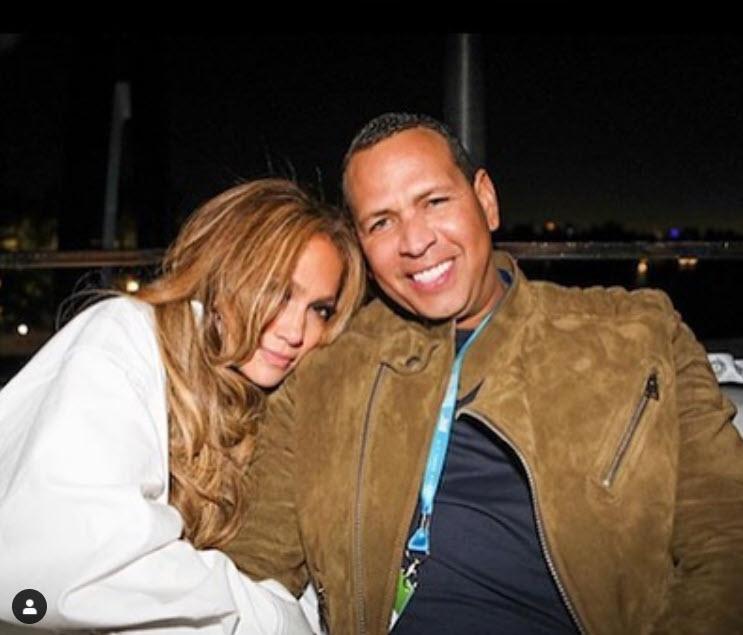 Jennifer Lopez and Alex Rodriguez on the Utopia IV