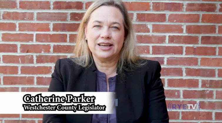 Rye 9-11 virtual ceremony 2020 Catherine Parker, Westchester County Legislator