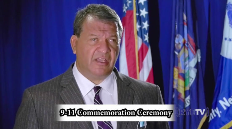 Rye 9-11 virtual ceremony 2020 George Latimer, Westchester County Executive