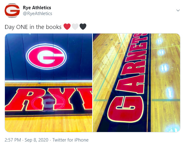 Rye Athletics on twitter