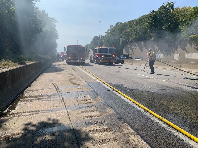 Rye I-95 Car Fire 09-21-2020 - 2 (pd)