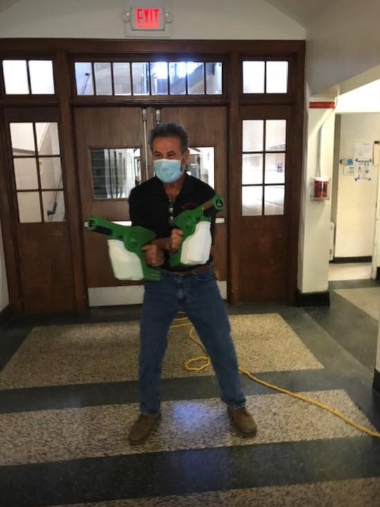 Rye Schools Head Custodian Angelo Morganti