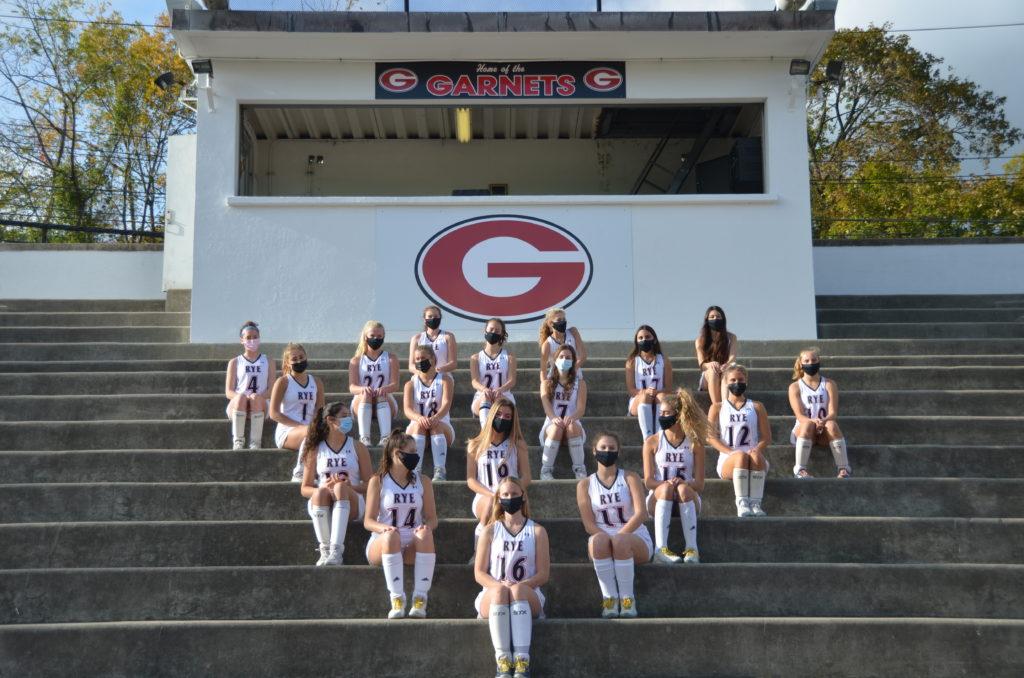 Rye High School Varsity Field Hockey Team Photo 2020 Garnets