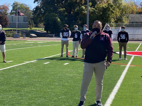 Harrison Football Coach Jay Ciraco