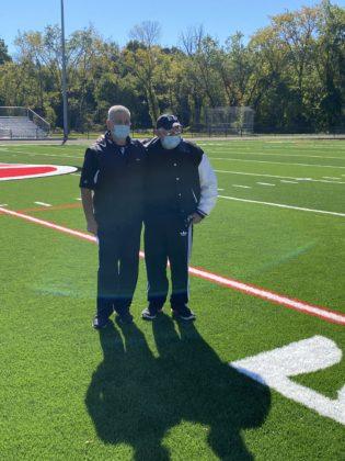 Football Coach Dino Garr and Doug Mello