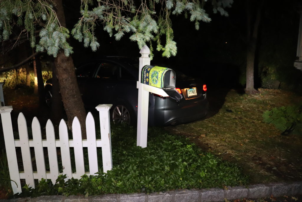Rye PD stolen car October 1, 2020