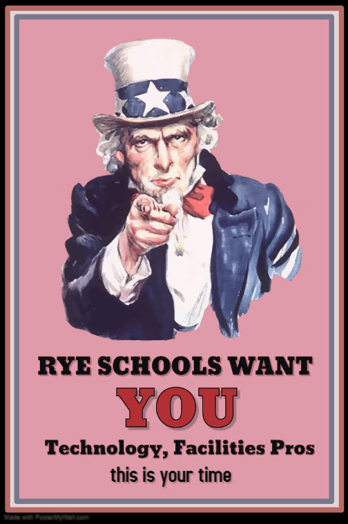 Rye Schools Tech & Facilities Call