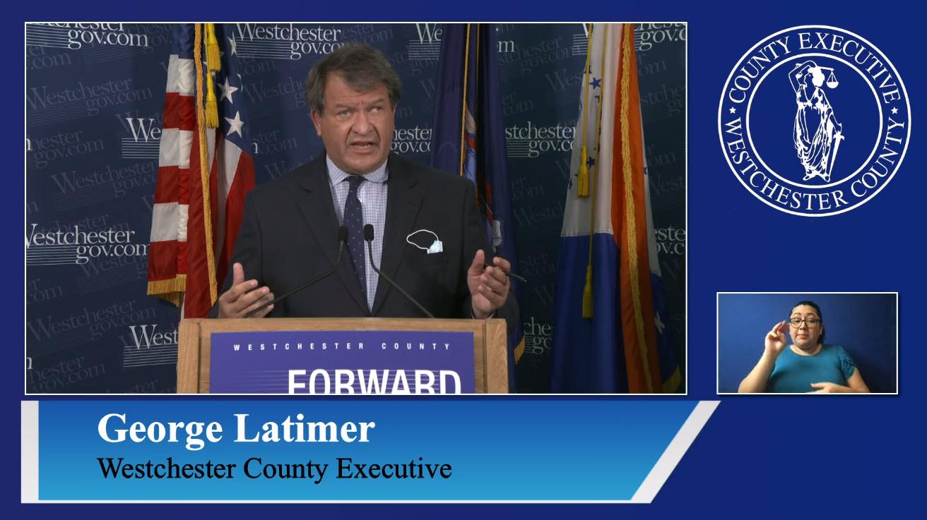 George Latimer COVID-19 briefing November 23, 2020 -- 2
