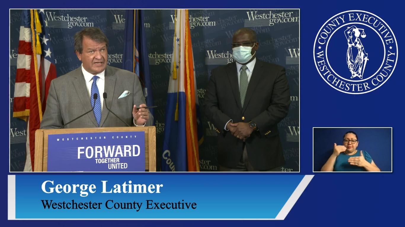 George Latimer COVID-19 briefing November 25, 2020 -- 1
