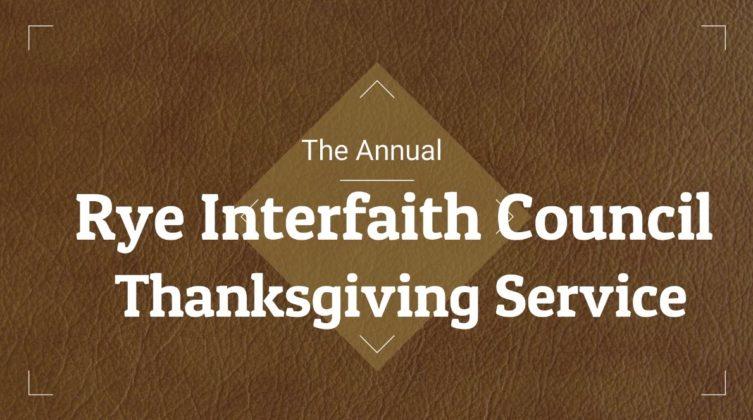 Interfaith Thanksgiving Service 2020