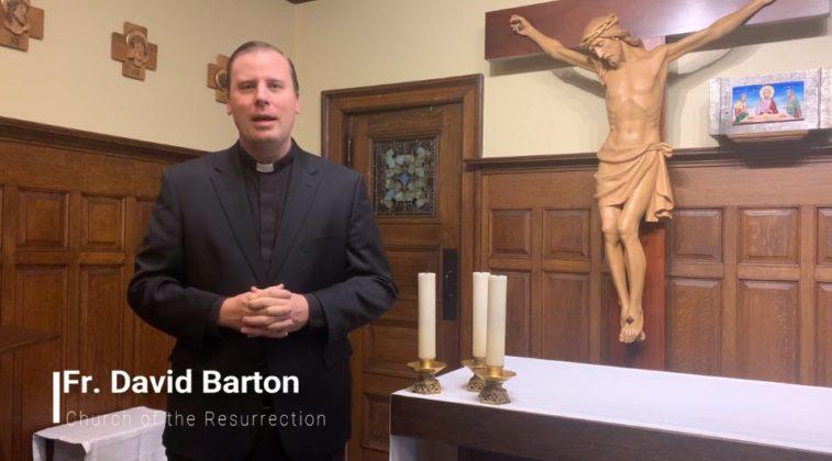 Interfaith Thanksgiving Service 2020 - Fr. David Barton Church of the Resurrection