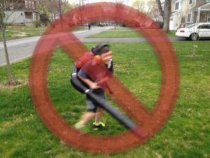 leaf blowers Jonathan strikeout