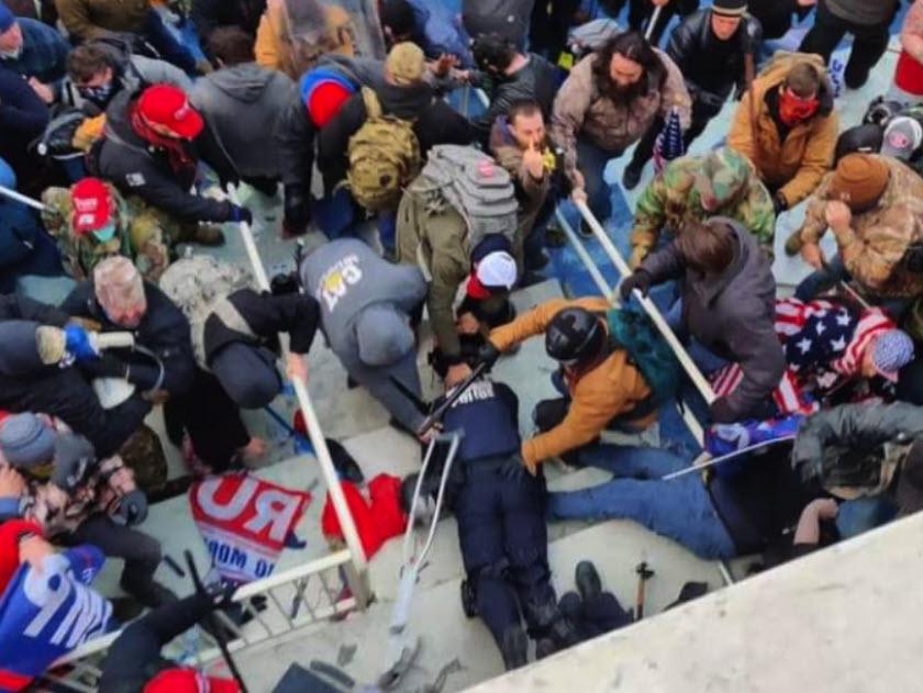 FBI Rye Office - Jeffrey Sabel Arrest Capitol Riots - 1 (Twitter)