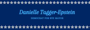Danielle Tagger-Epstein Democrat for Rye Mayor logo