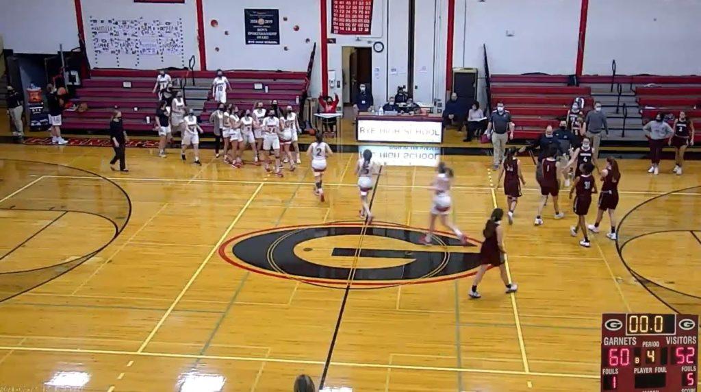 Girls Varsity Basketball vs. Harrison 02-23-2021
