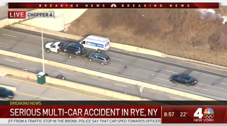 I-95 accident February 17, 2021 -- 2 WNBC