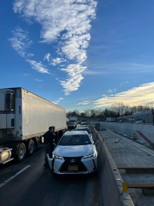 I-95 accident February 17, 2021 -- 5 NYS Troopers