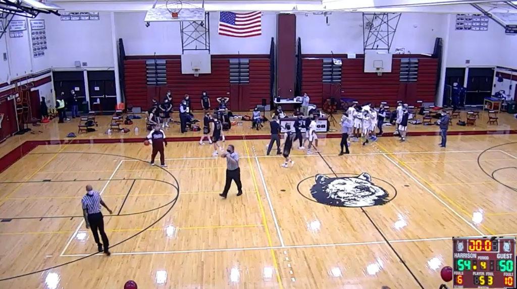Rye Boys Varsity Basketball 02-21-2020 vs. Harrison